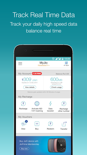 MyJio for Lyf Flame 3 - free download APK file for Flame 3