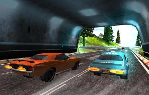 Traffic Muscle Car