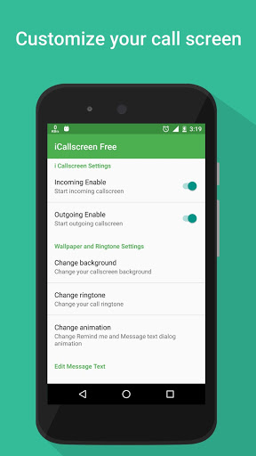 i Call screen Free + Dialer for Xiaomi Redmi Note 4 - free