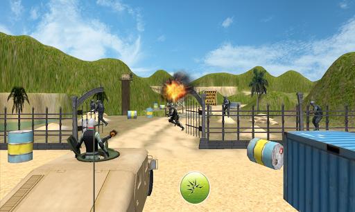 Army Machine Gun Camp War 3D
