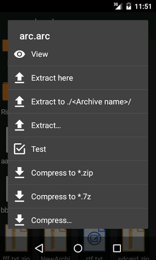 ZArchiver for Intex Aqua 4 5 Pro - free download APK file