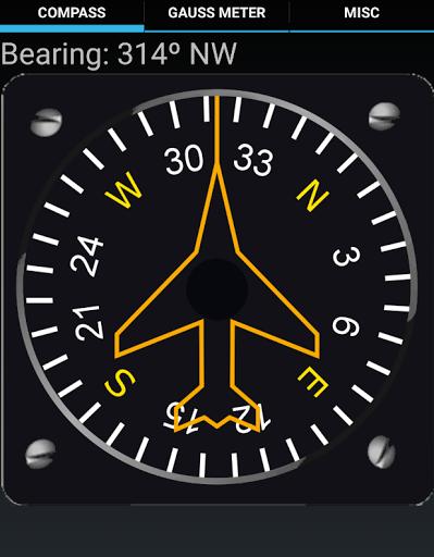Magnetic Compass Gauss Meter for Alcatel Pixi 4 Plus Power