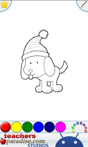 Kids Pets Coloring Book Game