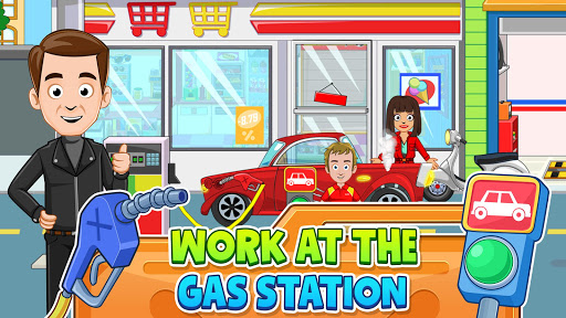 My Town: Car Garage. Wash & Fix kids Car Game