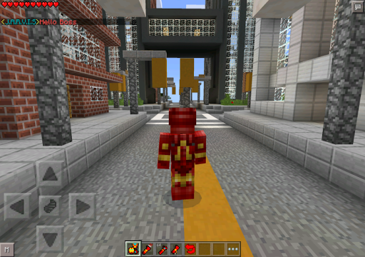 Free download Mod for Minecraft Ironman APK for Android