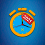 icon com.milleniumapps.freealarmclock