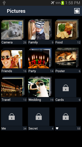 Secure Gallery(Pic/Video Lock) for vivo Y71 - free download