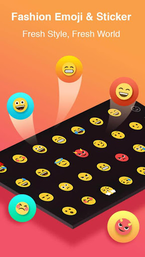 TouchPal Emoji Keyboard - Emoji,theme, sticker,gif for Oppo