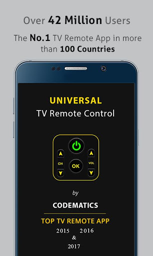 Universal TV Remote Control for TCL 560 - free download APK file for 560