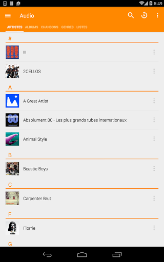 VLC for Android for Samsung Galaxy J7 Prime - free download