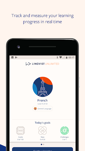 Lingvist: Language Learning for Sony Xperia XZ Premium