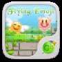 icon flying emoji
