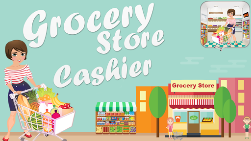 Supermarket Cashier Girl