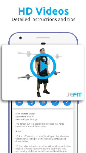 Jefit workout tracker gym log pro apk | JEFIT Workout Tracker