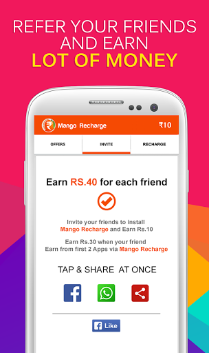 Free download Mango Recharge Free Recharge APK for Android