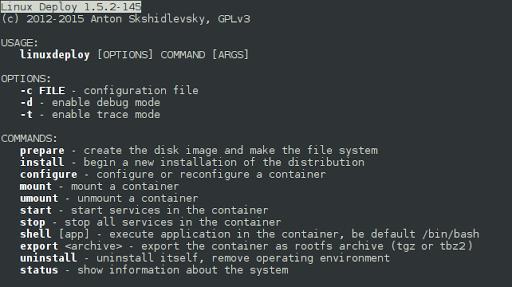 Linux Deploy for Motorola Moto E4 Plus - free download APK