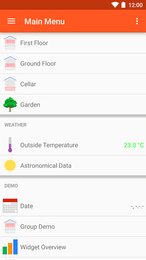 openHAB for Samsung Galaxy S3 - free download APK file for