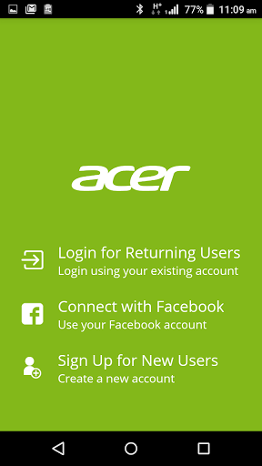Acer Leap Manager