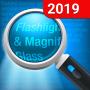 icon Flashlight & Magnifying Glass