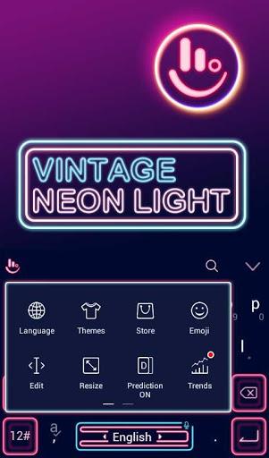 Vintage Neonlight Theme