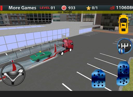 Truck Parking: Car Transporter