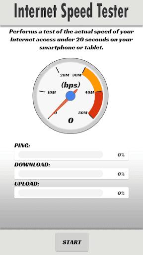 Internet Speed Tester