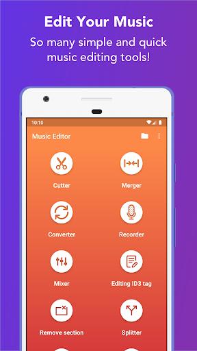 Music Editor - MP3 Cutter and Ringtone Maker