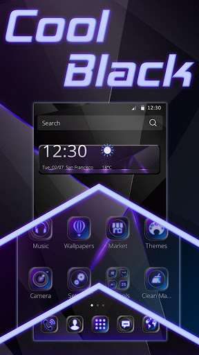 Cool Black Theme for Vivo Y69 - free download APK file for Y69