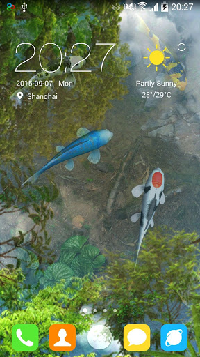 Water Garden Live Wallpaper