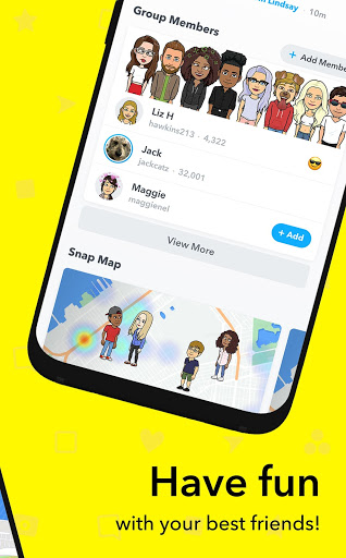 Snapchat for Samsung Galaxy S8 - free download APK file for