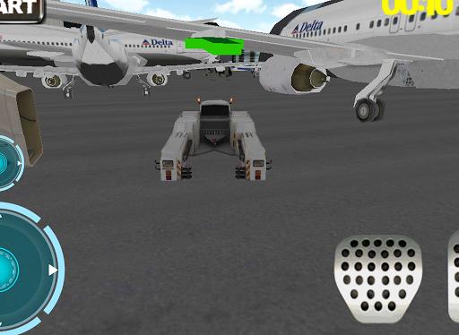 Ultra 3D airport car parking