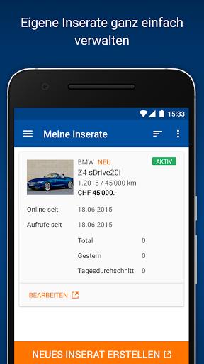 Mobile de autoscout24 ch