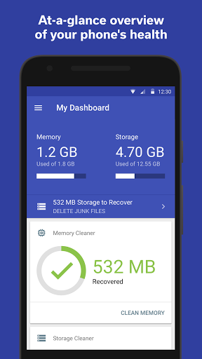 The Cleaner - Speed up & Clean for Samsung Galaxy J1 Ace