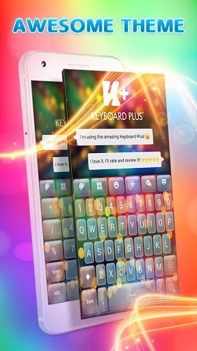 Color Flash Keyboard for Lenovo K8 Plus - free download APK file for