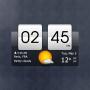 icon Sense Flip Clock & Weather for LG U