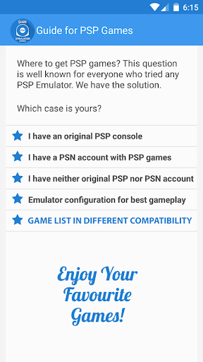 Emulator PSP Games for Samsung Galaxy J1 Ace - free download