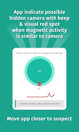 Hidden Camera Detector for Samsung Galaxy J3 (6) - free