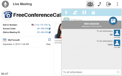 Free download Free Conference Call APK for Android