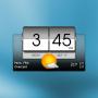 icon 3D flip clock & weather