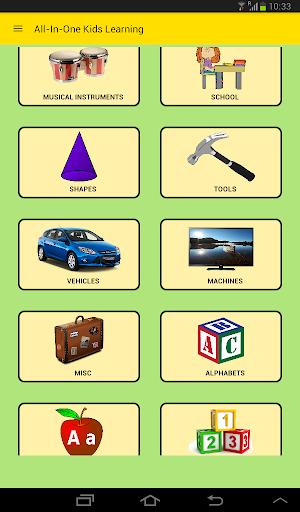 Kids App : All-In-One (Preschool Learning Game )