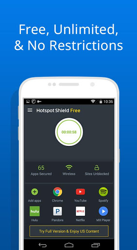 hotspot shield free download for samsung galaxy mini