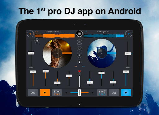 Cross DJ Free - Mix your music for Samsung Galaxy J1 Ace Neo - free
