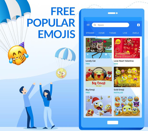 TouchPal Keyboard - Cute Emoji for Oppo A37 - free download