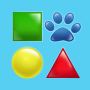 icon Shapes and Forms for Toddlers