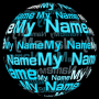 icon My Name in 3D Live Wallpaper