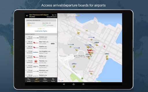 Flightradar24 Flight Tracker for LeEco Le 2 Pro - free download APK