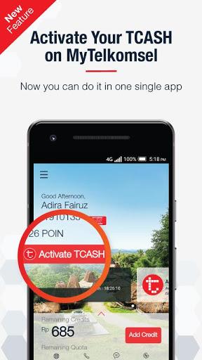 MyTelkomsel for BlackBerry Aurora - free download APK file