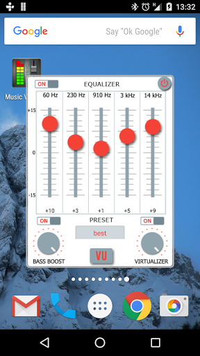Music Volume EQ + Bass Booster for Oppo A37 - free download