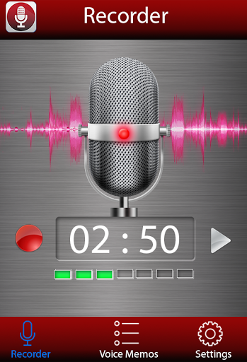 Voice recorder for Sony Xperia XA1 - free download APK file for