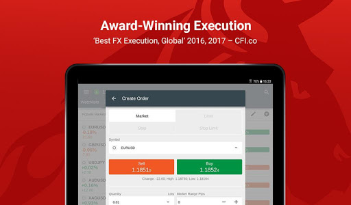 Free download FxPro cTrader APK for Android